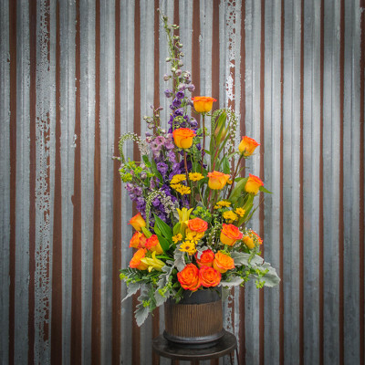 Custom Container Arrangement - Call for Pricing from Marion Flower Shop in Marion, OH