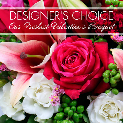 Designer's Choice - Valentine's Day from Marion Flower Shop in Marion, OH
