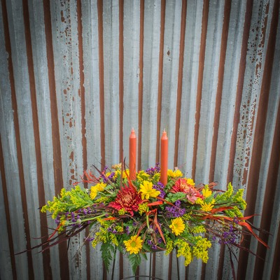 Fall Centerpiece - Elongated