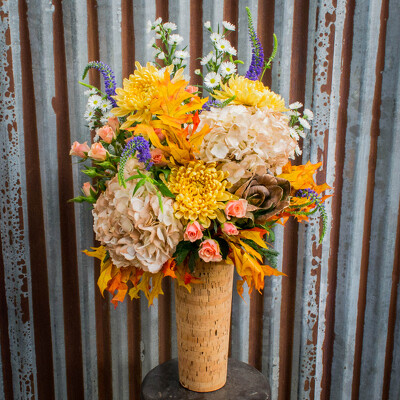 Fall Vase Arrangement from Marion Flower Shop in Marion, OH