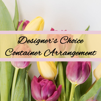 Designer's Choice - Sympathy Container from Marion Flower Shop in Marion, OH
